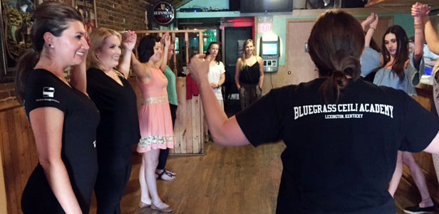 Irish dancing in Lexington with Bluegrass Ceili Academy