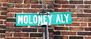 Moloney Alley is just a short walk away from Bluegrass Ceili Academy's studios at the Carver School.