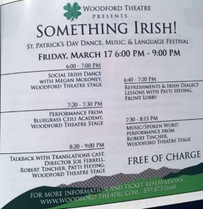 Bluegrass Ceili Academy Something Irish