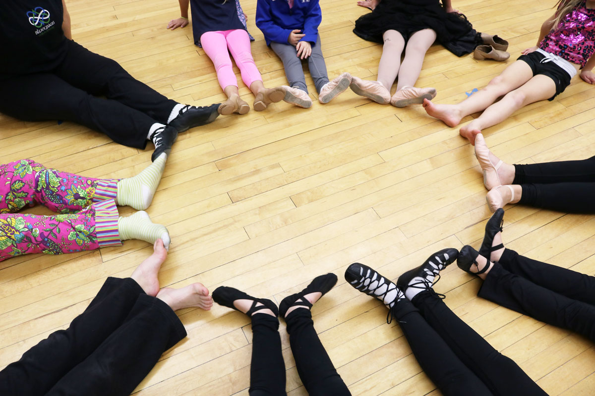 Got shoes? Our Lexington Irish dance program will take them!