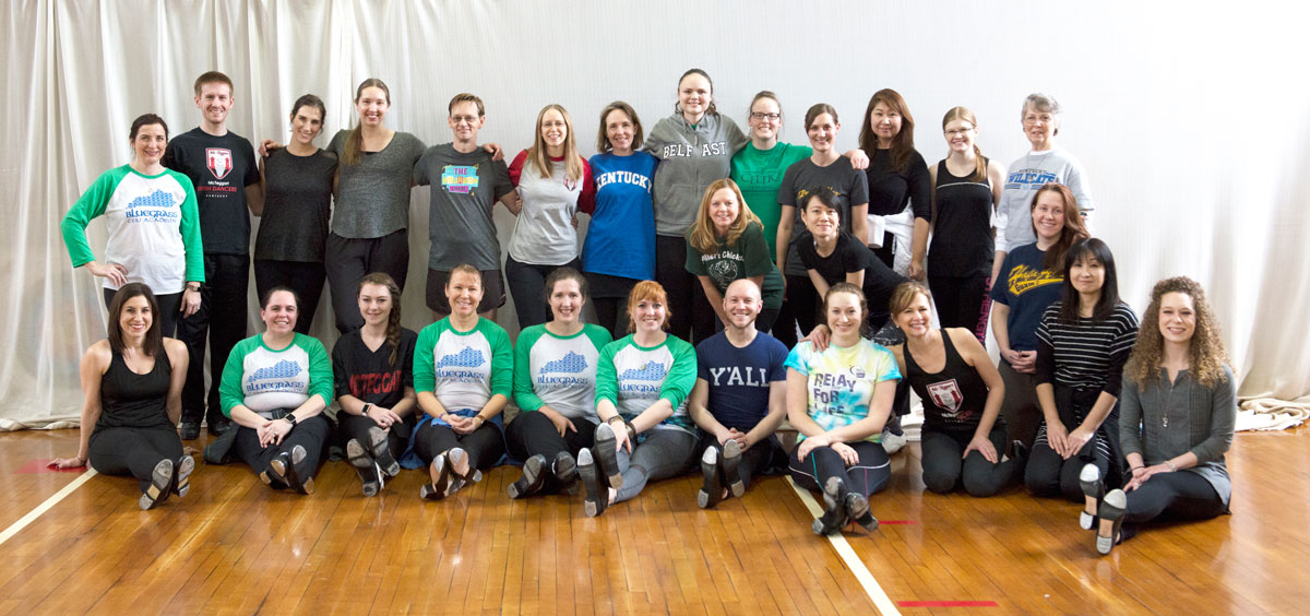 Our percussive Irish dance workshop in Lexington is back!