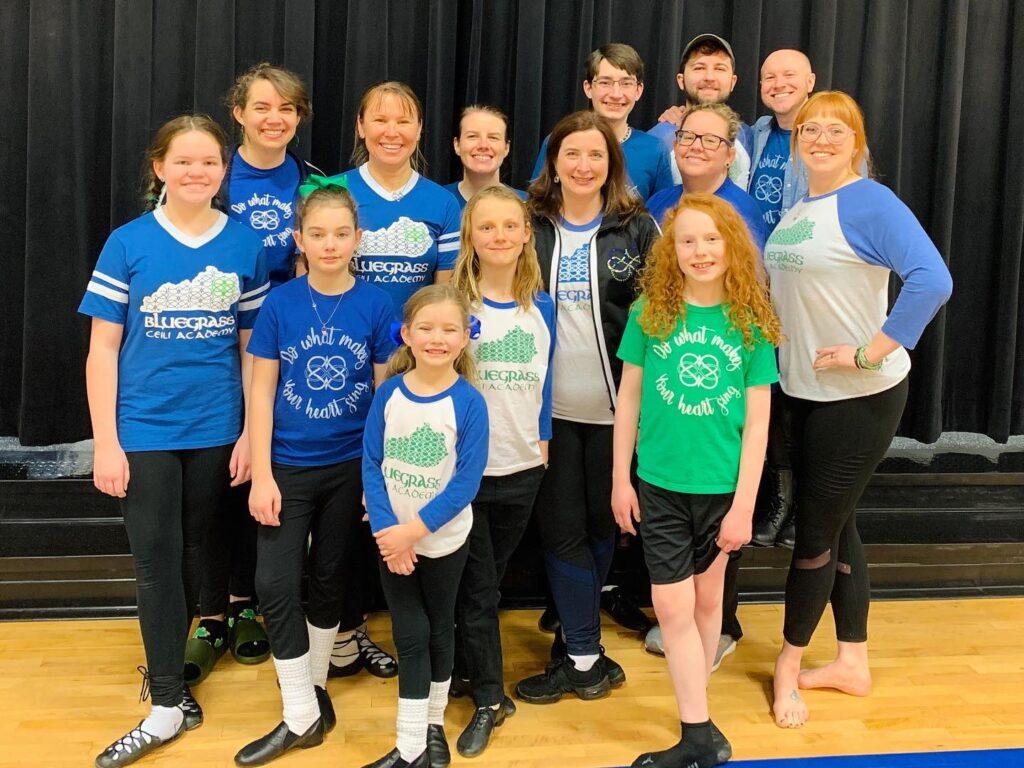 Bluegrass Ceili Academy dancers