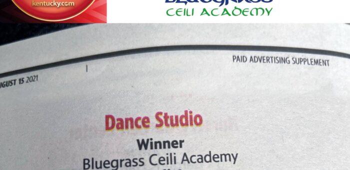 Bluegrass Ceili named Readers' Choice for favorite Lexington dance studio